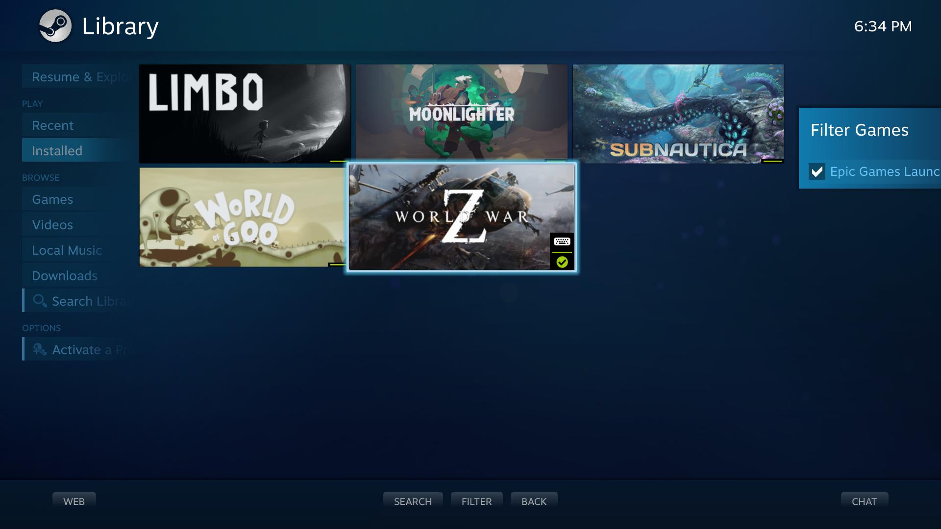 SteamGridDB Manager screenshot